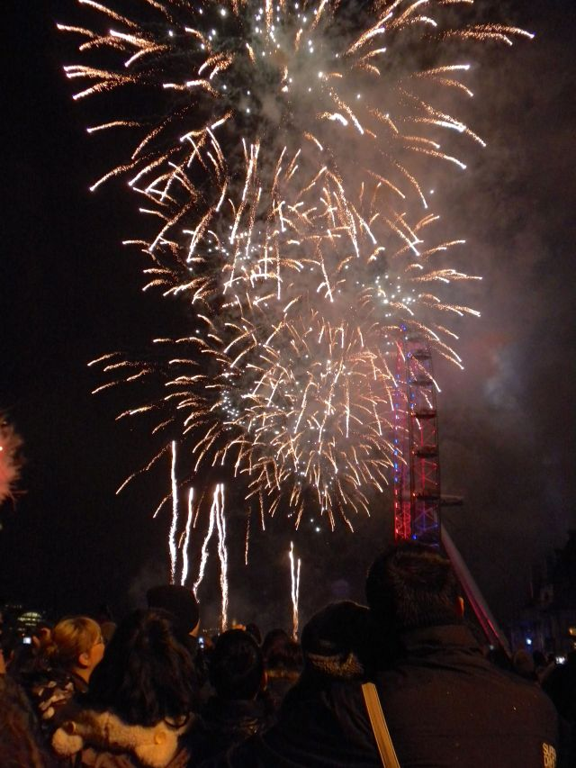 The fireworks were spectacular!