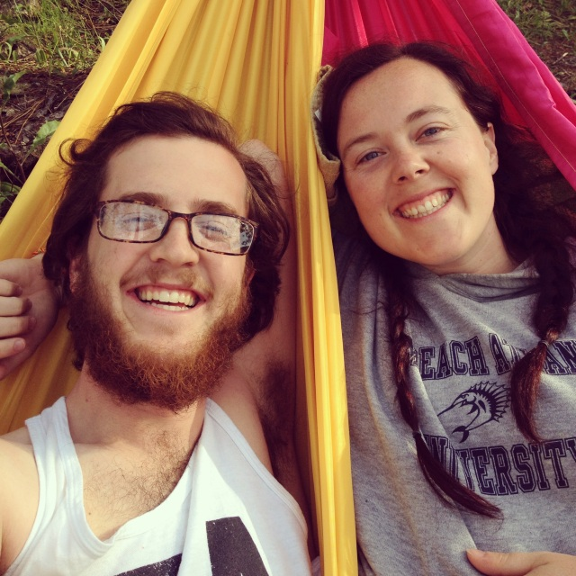 Hammock Time! We were all about relaxation on this trip.