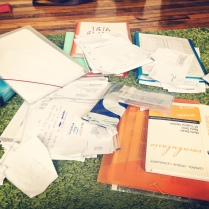 All my papers- before